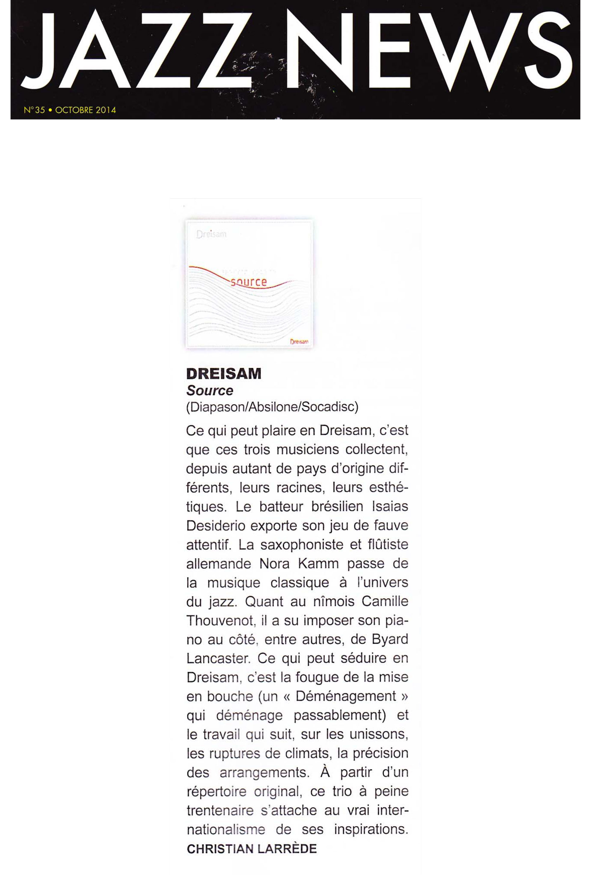 Jazz-News-octobre-2014_Dreisam